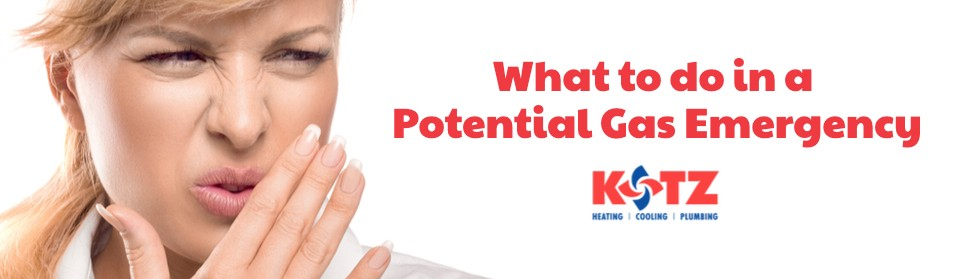 What To Do in a Potential Gas Emergency